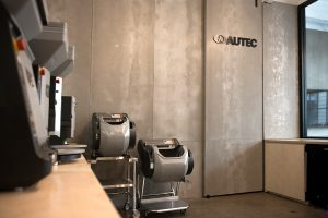 AUTEC NY Showroom Sushi Robots