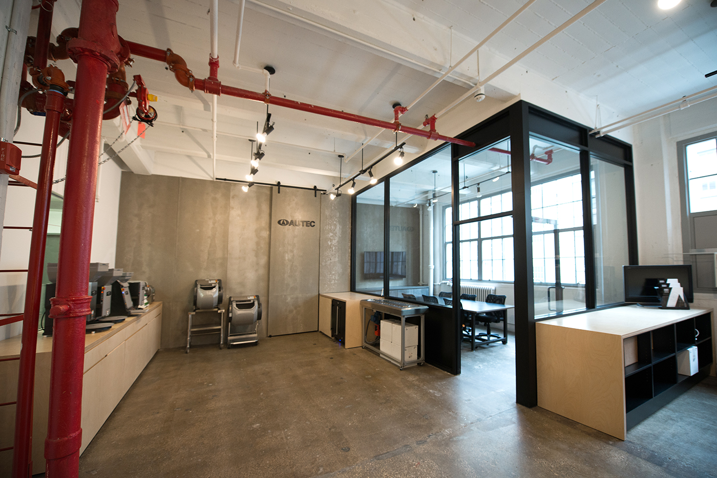 AUTEC Sushi Robot and Equipment Manufacturer New York Showroom at Industry City